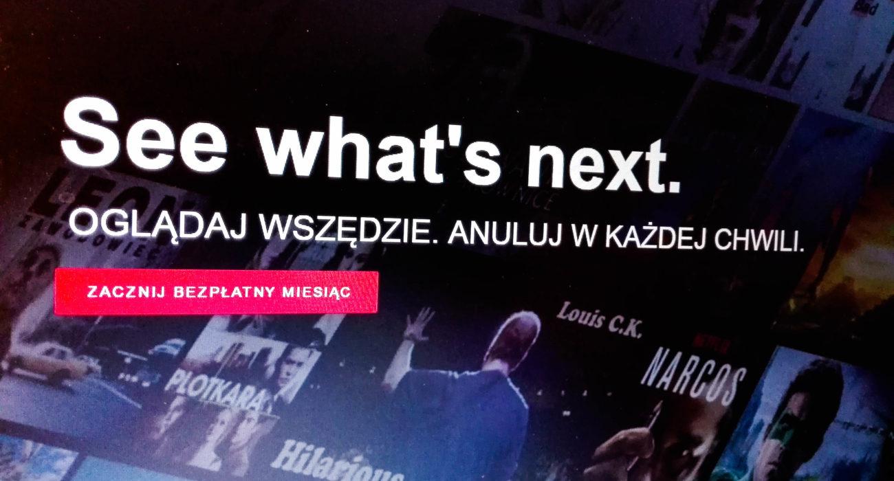 produkcja filmowa netflix